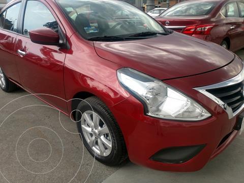 Nissan Versa Sense Aut usado (2019) color Rojo financiado en mensualidades(enganche $59,823 mensualidades desde $6,069)