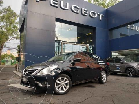 Nissan Versa Advance usado (2017) color Negro precio $169,900