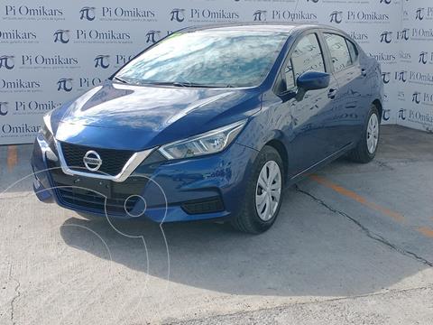foto Nissan Versa Sense usado (2017) color Azul precio $258,000