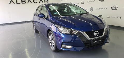 Nissan Versa Advance usado (2020) color Azul precio $258,900