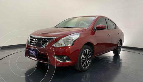 Nissan Versa Exclusive Aut usado (2019) color Rojo precio $262,999