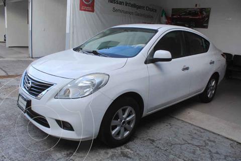 Nissan Versa Advance Aut usado (2012) color Blanco precio $129,000