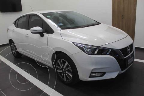 Nissan Versa Advance usado (2020) color Blanco precio $285,000