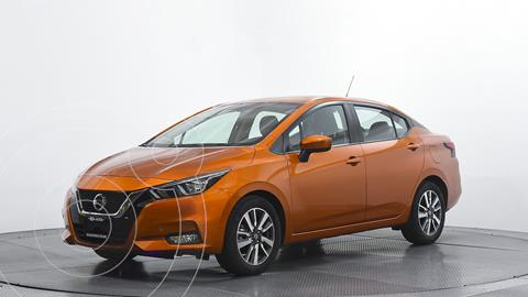 Nissan Versa Advance usado (2020) color Naranja precio $276,628