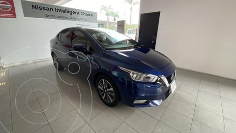 Nissan Versa Advance usado (2021) color Azul precio $308,000