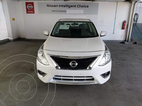 Nissan Versa Exclusive NAVI Aut usado (2019) color Blanco precio $251,900