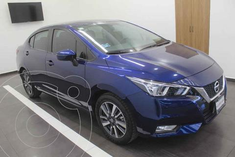 Nissan Versa Advance usado (2020) color Azul precio $285,000