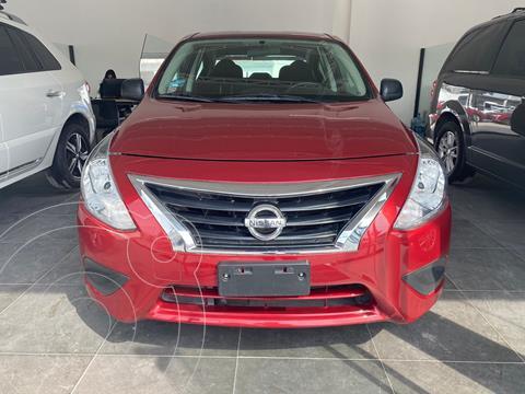 Nissan Versa Drive usado (2019) color Rojo precio $165,000
