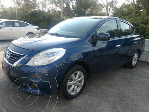 Nissan Versa Advance  usado (2014) color Azul precio $147,000