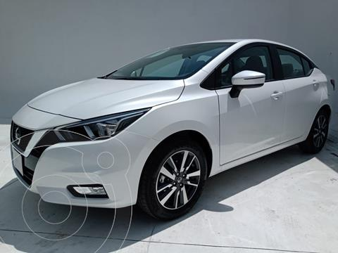 Nissan Versa Advance usado (2021) color Blanco precio $295,000
