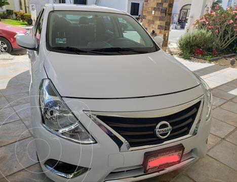 Nissan Versa Advance Aut usado (2017) color Blanco precio $160,000
