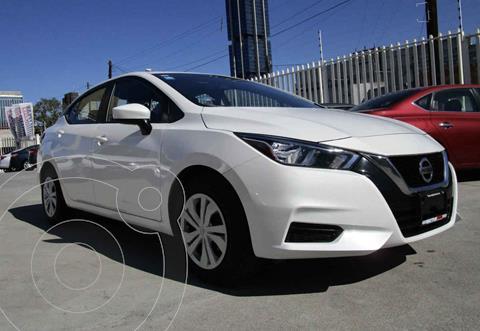 Nissan Versa Sense usado (2020) color Blanco precio $243,900