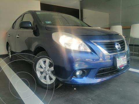 Nissan Versa Advance Aut usado (2012) color Azul precio $129,800