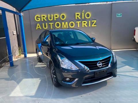 Nissan Versa Exclusive NAVI Aut usado (2016) color Azul precio $159,000