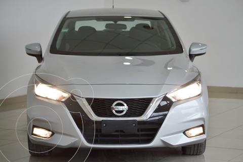 Nissan Versa Advance Aut usado (2020) color Plata precio $280,000