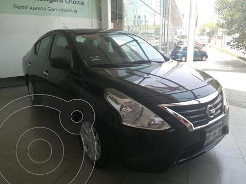 Nissan Versa Sense Aut usado (2016) color Negro precio $152,000