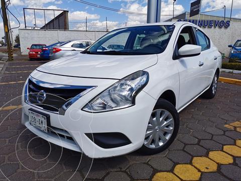 Nissan Versa Sense usado (2017) color Blanco precio $165,000