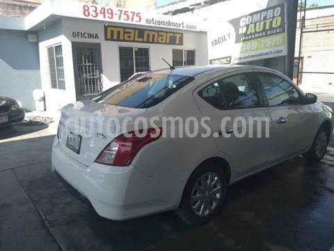 Nissan Versa Sense Aut usado (2017) color Blanco precio $155,000