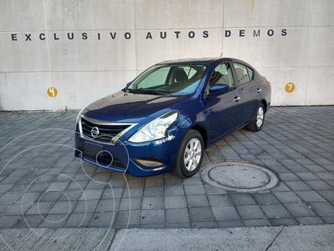 Nissan Versa Sense Aut usado (2019) color Azul precio $199,900