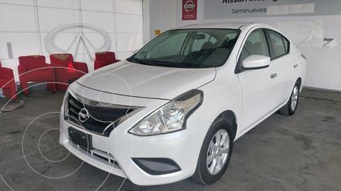 Nissan Versa Sense Aut usado (2019) color Blanco precio $185,000