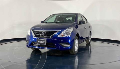 Nissan Versa Sense usado (2019) color Azul precio $210,999
