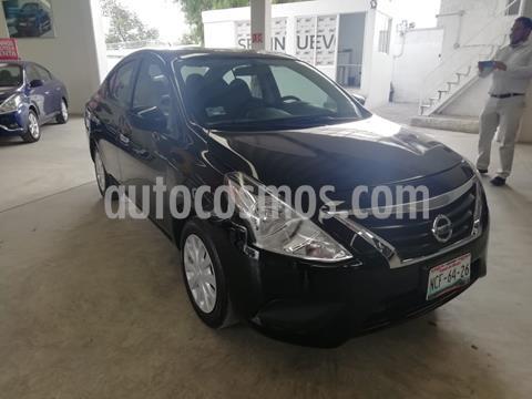 Nissan Versa Sense usado (2018) color Negro precio $165,000