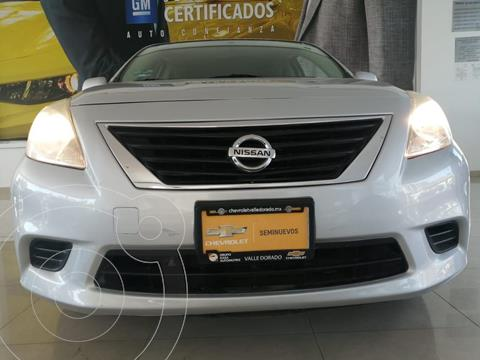 Nissan Versa Sense Aut usado (2014) color Plata Dorado precio $115,000