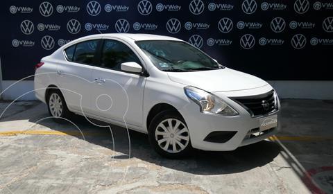 Nissan Versa Sense Aut usado (2016) color Blanco precio $135,000