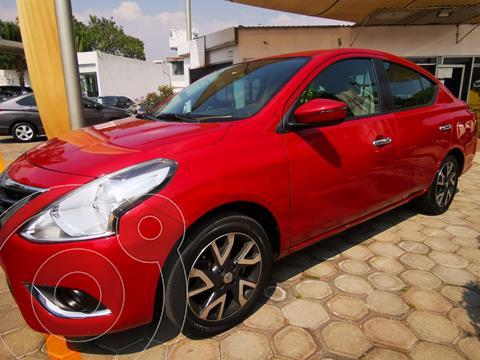 Nissan Versa Exclusive Aut  usado (2015) color Rojo precio $165,000