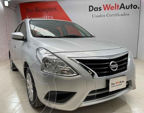 Nissan Versa Sense usado (2016) color Plata precio $161,800