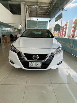 Nissan Versa Advance usado (2020) color Blanco precio $289,900