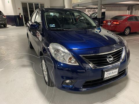Nissan Versa Exclusive Aut  usado (2014) color Azul precio $152,000
