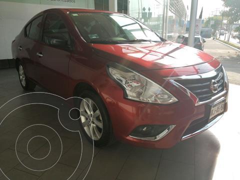 Nissan Versa Advance Aut usado (2016) color Rojo precio $158,900