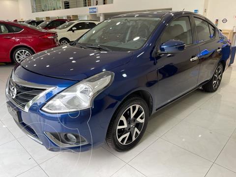 Nissan Versa Exclusive NAVI Aut usado (2018) color Azul precio $208,000