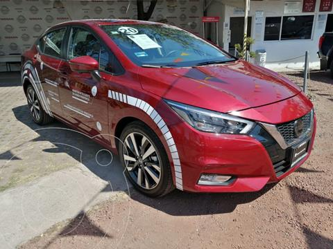 Nissan Versa Platinum Aut usado (2020) color Rojo precio $310,000