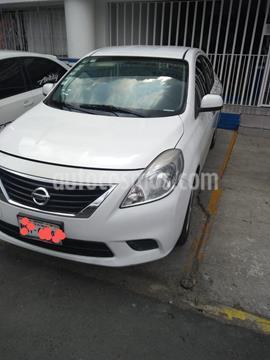 Nissan Versa Sense Aut usado (2012) color Blanco precio $93,000