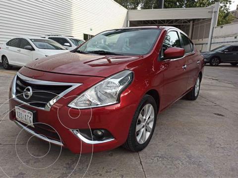 Nissan Versa Advance usado (2018) color Rojo precio $189,000