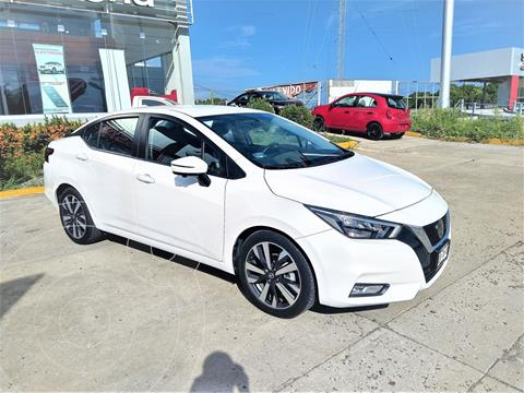 Nissan Versa Platinum Aut usado (2020) color Blanco precio $315,000