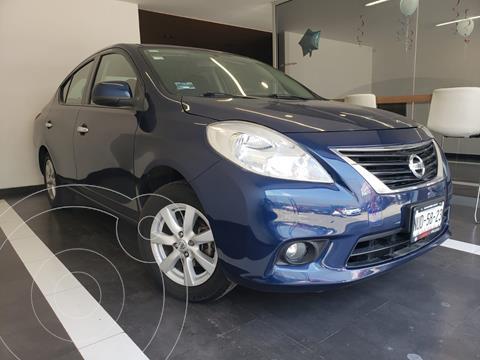 Nissan Versa Advance  usado (2014) color Azul precio $149,800