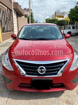 Nissan Versa Sense Aut usado (2015) color Rojo precio $120,000