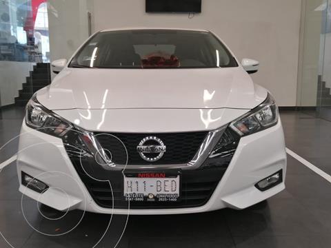 Nissan Versa Advance usado (2020) color Blanco precio $257,758