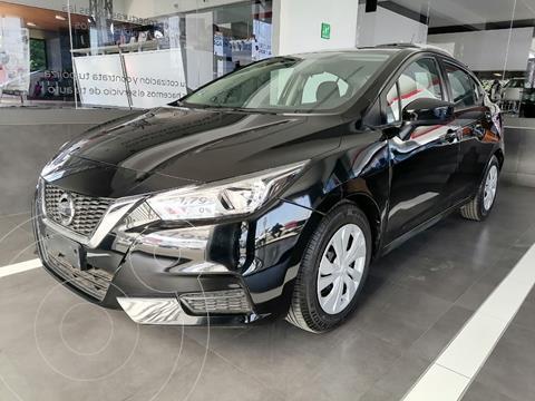 Nissan Versa Sense Aut usado (2020) color Negro precio $249,000