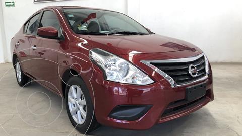 Nissan Versa Sense usado (2019) color Rojo precio $215,000