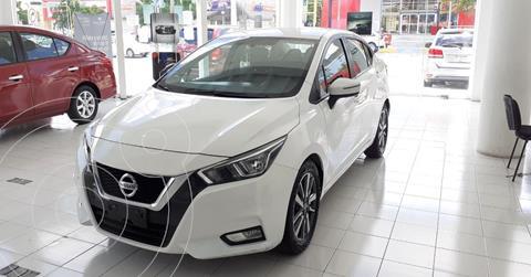 Nissan Versa Advance usado (2020) color Blanco precio $249,900