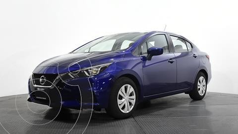 Nissan Versa Sense Aut usado (2020) color Azul Oscuro precio $253,232