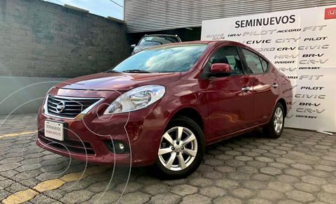 Nissan Versa Exclusive Aut usado (2013) color Rojo precio $148,000
