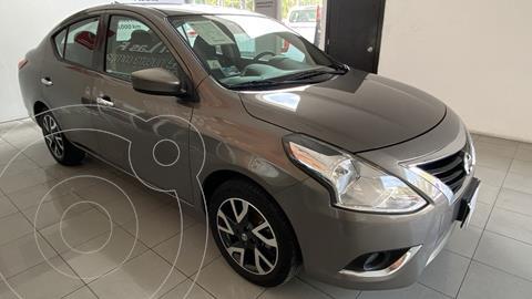 Nissan Versa Advance Aut usado (2019) color Gris Oscuro financiado en mensualidades(enganche $52,500 mensualidades desde $5,500)