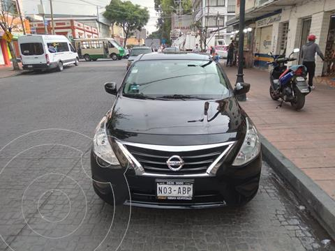 Nissan Versa Sense Aut usado (2015) color Negro precio $138,000