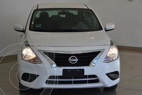 Nissan Versa Sense Aut usado (2018) color Blanco precio $195,000