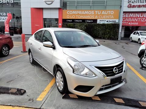 Nissan Versa Sense Aut usado (2018) color Plata Dorado precio $205,000